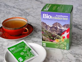Pfefferminze-, Alpenkräutertee BIO
